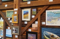 Art in the Barn paintings