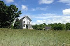 Brown Spring Farm, farmhouse