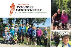 Tour de Greenbelt logo, IFS title sponsor
