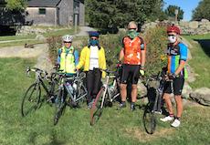 Tour de Greenbelt riders at Cox 2020